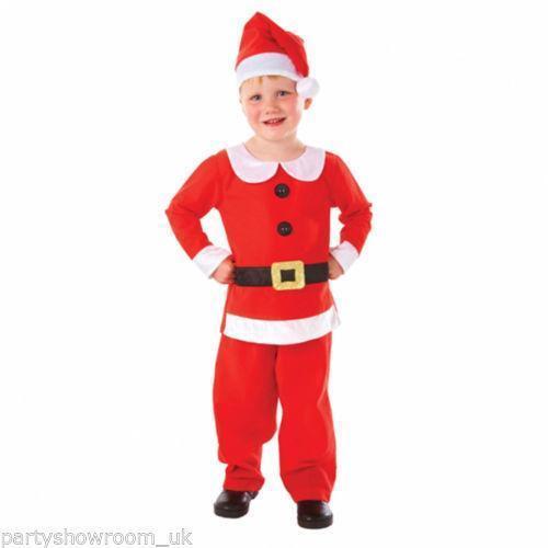 615df22a243 Boys Santa Costume