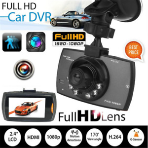 "Dash Cam Full HD 1080P 2.4"" Car  Car Camera Recorder"