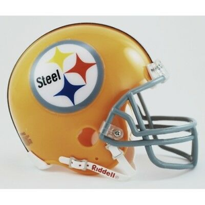 (PITTSBURGH STEELERS NFL 1962 Riddell THROWBACK Mini Football Helmet)