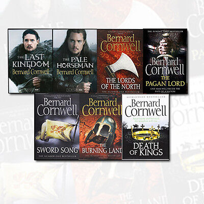 The Warrior Chronicles Collection 7 Books Set By Bernard Cornwell New Paperback
