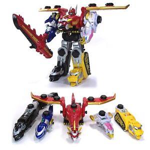Bandai modello robot dx gosei great megazord power rangers - Robot power rangers megaforce ...