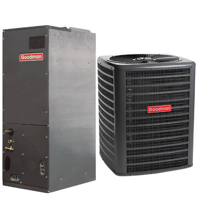 Goodman 3 Ton 16 Sibyl R410A Whole Split Combination Heat Pump