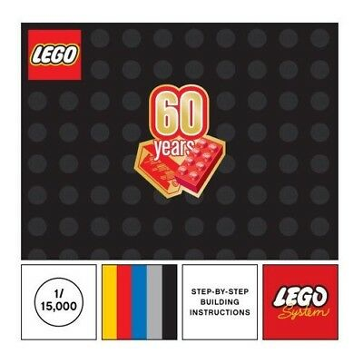 LEGO Classic 60th Anniversary Limited Edition Collectible Booklet Book Walmart - Walmart Toys Legos