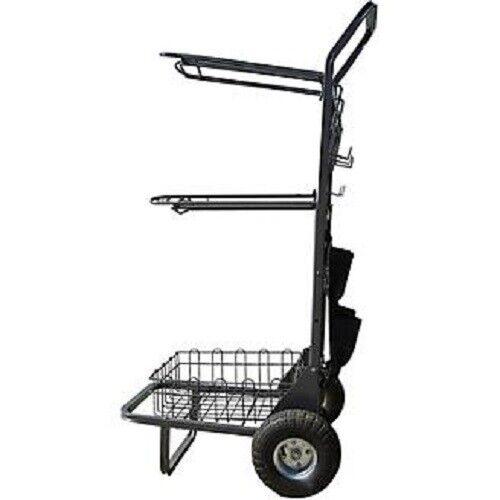 Rolling Saddle Rack Cart NEW