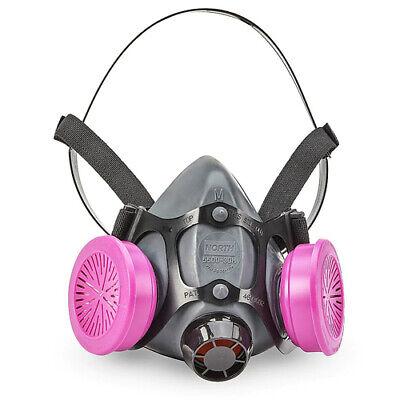 North 5500 Series Half Face Respirator 5500-30m W 1 Pr. 7580p1oo Size Medium