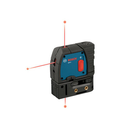 Bosch 1.5V 3-Point Self-Leveling Alignment Laser GPL3 Recon