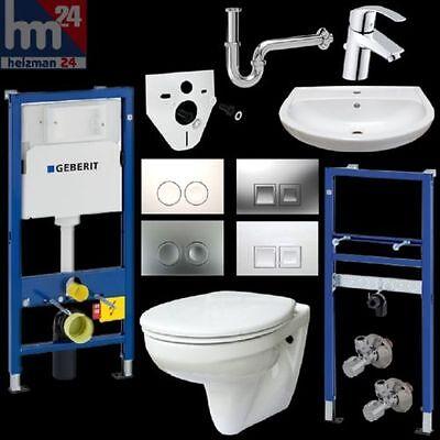 Komplettset Gustavsberg WC u. Waschtisch inkl. Vorwandelemente u. Betätigungspl. online kaufen