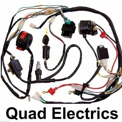 Efficient Wiring Harness Cdi Coil Kill Key Switch 50cc 110cc 125cc Atv Quad Bike Buggy Free Shipping Atv,rv,boat & Other Vehicle