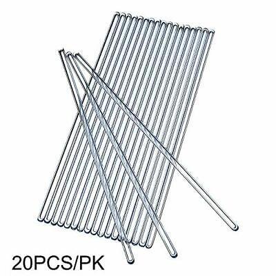 Glass Stirring Rod,Stir Bar,Stirrer Mixer,Length 250mm,Diameter 5mm,20Pcs/Lot