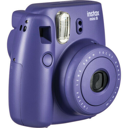 instax mini 8 instant film camera purple