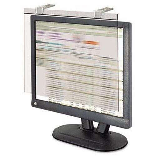 "Kantek LCD Acrylic Monitor Filter w/Privacy Screen, 19""-20"" Monitor (KTKLCD19SV)"