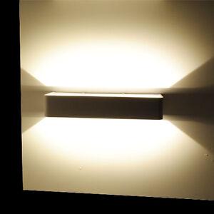 Applique da parete a led 12w luce calda lampada parete for Lampadine faretti led luce calda