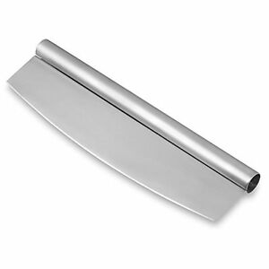 Commercial Grade Stainless Steel : 14-Inch-Professional-Commercial-Grade-Stainless-Steel-Pizza-Cutter ...