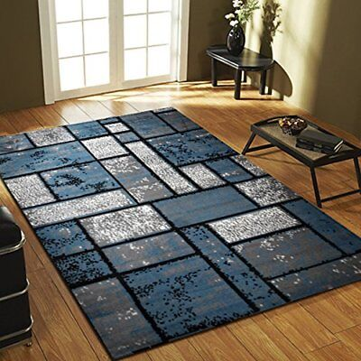 Area Rugs Geometric design Carpet Made in Turkey - Color and Size Options  - Rugs And Carpets