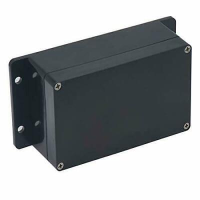 Project Box Ip65 Waterproof Junction Abs Plastic Black Electrical Boxes Black
