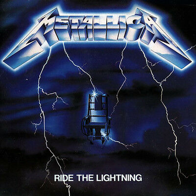 Metallica   Ride The Lightning  New Vinyl  180 Gram