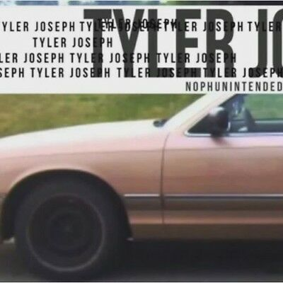Tyler Joseph No Phun Intended CD Twenty One Pilots (Blurryface Vessel)