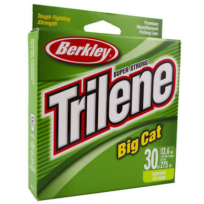 Berkley Trilene Big Cat 20 30 40 Lb 200 220 270 Yd Solar Fast Free Shipping