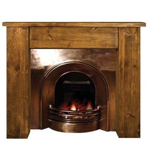 Rustic Fire Surround Ebay