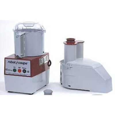 Robot Coupe R2 Commercial Dicing Food Processor - 3 Qt. Plastic Bowl Gray