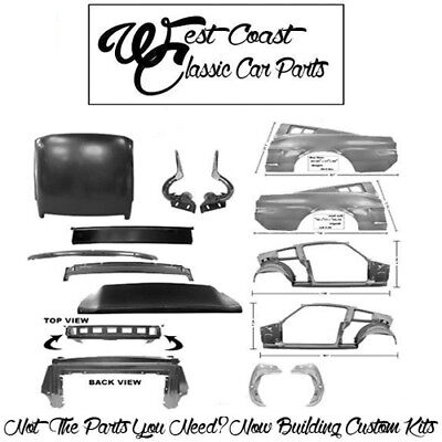 1968 Mustang Coupe To Fastback Conversion Quarters Roof Frame Assemblies Lid