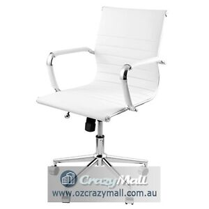 Eames Replica Office Chair High/Normal Back,Black/White Melbourne CBD Melbourne City Preview