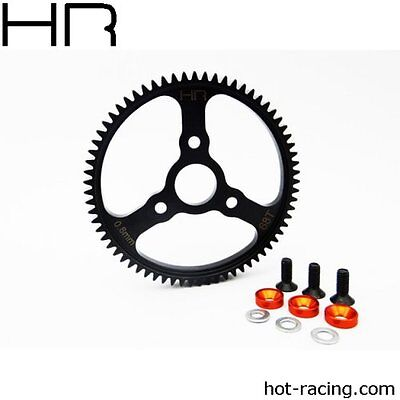 Heavy Duty Spur Gear - Hot Racing HRASERVO268 Heavy Duty Steel Spur Gear 68T 32P 0.8M Traxxas E-maxx