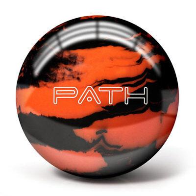 Pyramid Path Orange Black Bowling Ball