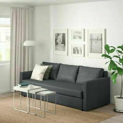 New Original IKEA cover set for FRIHETEN 3-SEATER SOFA BED in VISSLE...