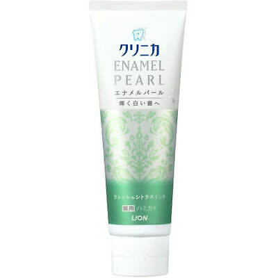 ☀Lion Clinica Enamel Pearl Whitening Toothpaste Fresh Citrus Mint 130g F/S ()