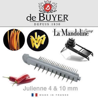 de Buyer - La Mandoline Swing - Julienne Klinge 4/10 mm De Buyer Mandoline