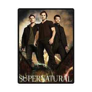 Brand New Soft Supernatural Throw Blanket 58