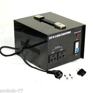 Transformador de corriente 2000w de 220 a 110v o de 110 a - Transformador 220 a 110 ...