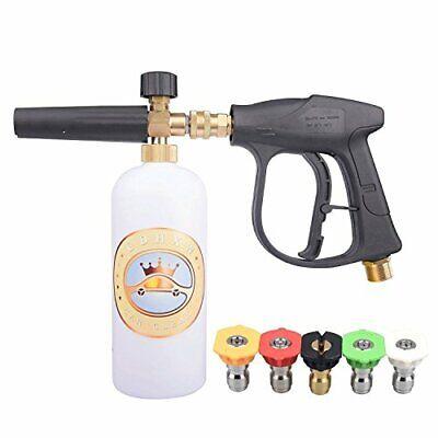 Power Pressure Washer Gun Attachment Sprayer Dispenser Soap Foam Bubble Car Wash