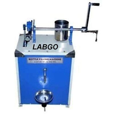 Hand Operated Jar Bottle Filling Machine