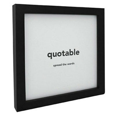 QUOTABLE FRAME - Black 5x5 - Add a Quotable Card for a Great Gift - QC-FR-01