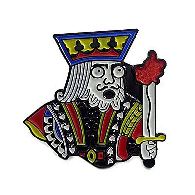 Crazy King Dabber Novelty Dab Stoner Enamel Hat Snapback Pin