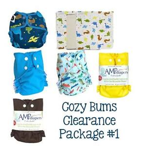 Cozy Bums Cloth Diaper Clearance Kits - 20% off MSRP!