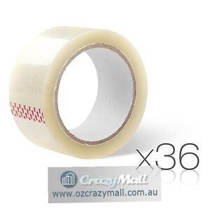36 Rolls Packing Sticky Tape 48mm x 75m Melbourne CBD Melbourne City Preview
