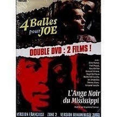4 balles pour joe / l'ange noir du mississippi DOUBLE DVD NEUF