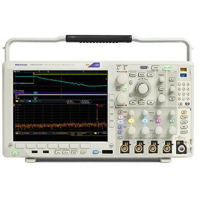 Tektronix Mdo4054c 500 Mhz 4-channel 5 Gss Mixed Domain Oscilloscope