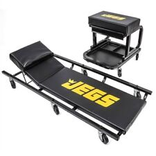 JEGS 81150 Creeper & Mechanic Seat Set