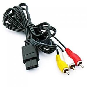 CABLE VIDEO GameCube / N64 / Super Nintendo AV Cable