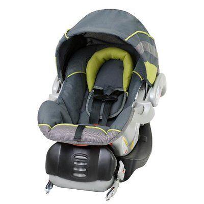 Baby Trend Flex Loc Infant CAR SEAT, EPS Portable BABY CAR SEAT, Carbon