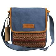 Small Canvas Messenger Bag