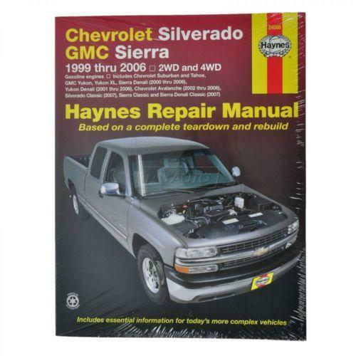 Chevrolet silverado repair manual ebay publicscrutiny Images
