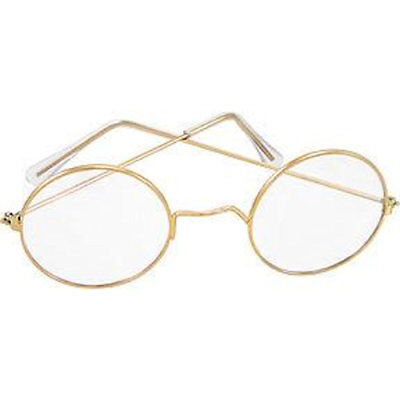 Round Eye Glasses Santa & Mrs Claus OLD Fashioned Spectacles Franklin (Old Round Glasses)