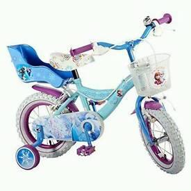 Frozen 12inch bike