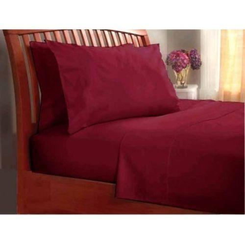 Queen Duvet Cover Burgundy Ebay