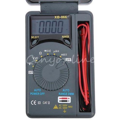 Radio Shack Capacitance Meter : Pocket multimeter ebay